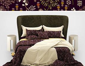 3D Turpault Lauren meridiani classic bed