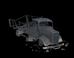 crash car Opel Blitz 3D model