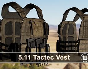 3D asset 511 TacTec Platecarrier Tactical Bulletproof Vest