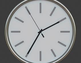 clock Wall Clock 3D model