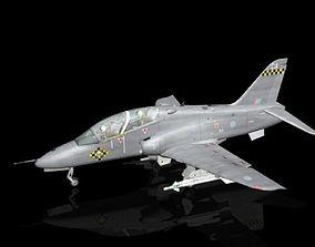 3D model Hawk BAE T1 RAF