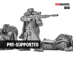 Ice Warriors - Snipers of the Imperial 3D print model