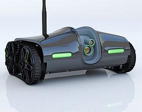 3D model Rover Spy Tank 2