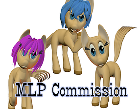 3D model My little pony