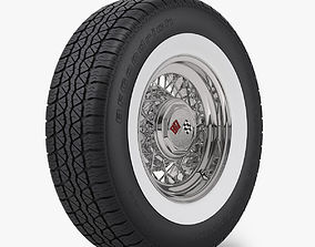 3D Classic Wire Wheel and Tire BFG