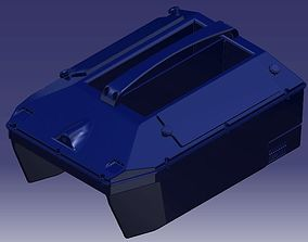 RC Bait Boat V1 for Carpfishing 3D Model Print diy