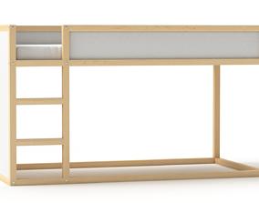 3D Kura Reversible High Bed