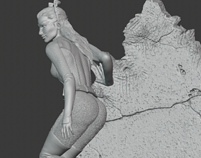 catwoman people 3D print model