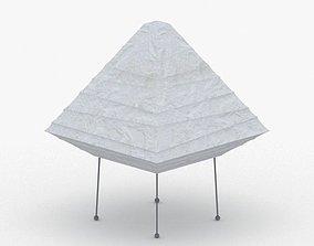 3D asset 1416 - Paper Lamp