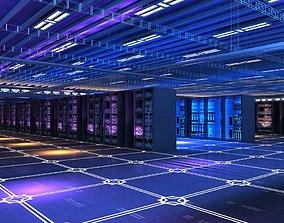 3D comms data communication server
