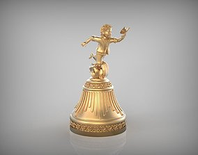 3D printable model Bell - Boy with Butterfly STL