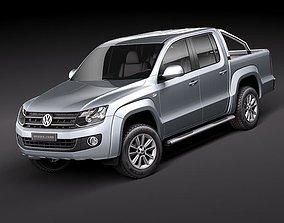 Volkswagen Amarok 2011 3D model