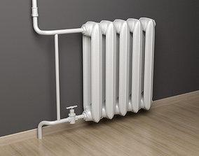 Home radiator 3D model