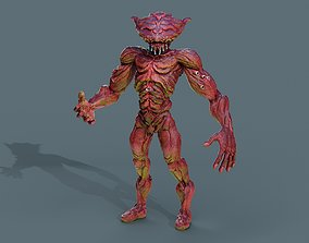 3D asset Sci -fi Alien insect character rigged