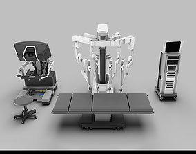 Surgical System da Vinci Xi model 3D