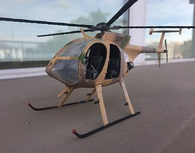 assemblykit MD530 HELICOPTER - SCALE MODEL - ASSEMBLY KIT