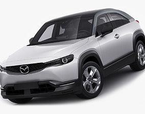 3D Mazda MX-30 2020