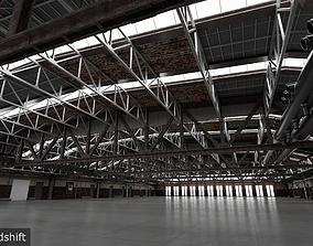 3D Hangar interior