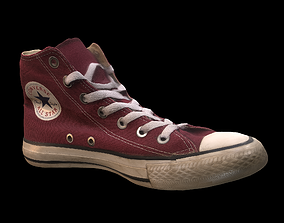 Converse All Star Shoe 3D asset