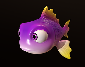3D rigged Asset - Cartoons - Animal - Fish