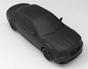 3D printable model Chrysler 300 SRT8 Car