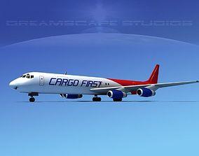Douglas DC-8-63F Cargo First 3D model