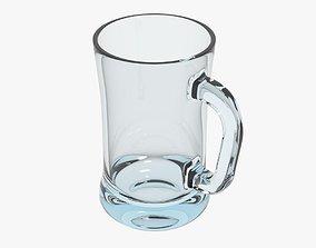 3D model realtime Glass Mug