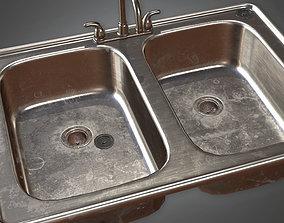3D model Kitchen Sink HVM - PBR Game Ready