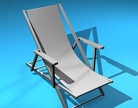 Deck chair 3D garden-furniture