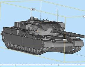 3D printable model Cheiftain Tank Highly Detailed