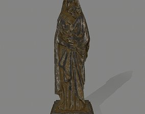 Woman Statue 3D asset realtime