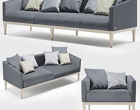 3D model seat Busnelli Sofa Life