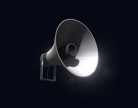 Loudspeaker Game Ready 3D asset