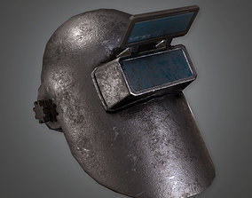 3D model Metal Welding Helmet TLS - PBR Game Ready
