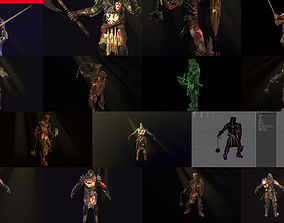 3D Knight collection