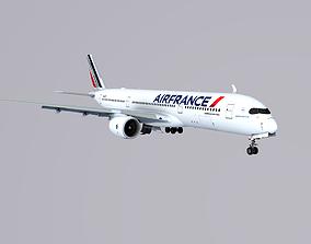 A350-900 XWB AirFrance 3D asset