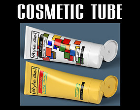 Cosmetic tube 05 3D model