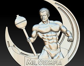 3D print model mr Olympia medal