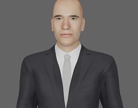 3D Business Man
