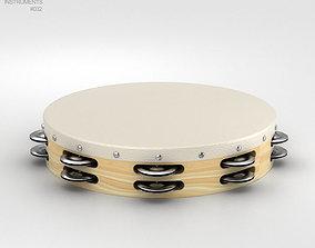 instrument 3D Tambourine