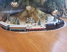 Flat Bed Train Car Model