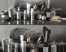 bathroom set 04 3D model pumicestone