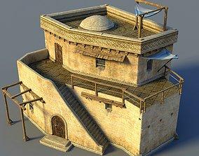 Oriental house 3D model