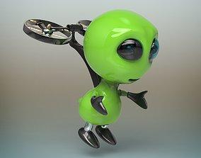 Alien robot 3D