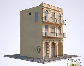 3D asset VR / AR ready Cuban House