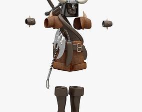 Barbarian Cloth 3D model