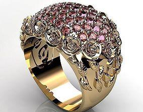 3D print model Rose Gold Ring