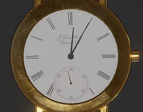 3D model Vintage Wristwatch