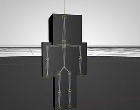 3D model riggedcha