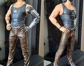 Johnny Silverhand Cyberpunk 3D printable model